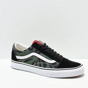 Vans Old Skool Rasta Tie Dye Skate Shoes NWT